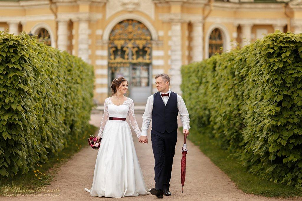 Свадьба Егора и Полины в Кусково